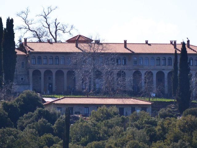 The Monastery of Agia Lavra